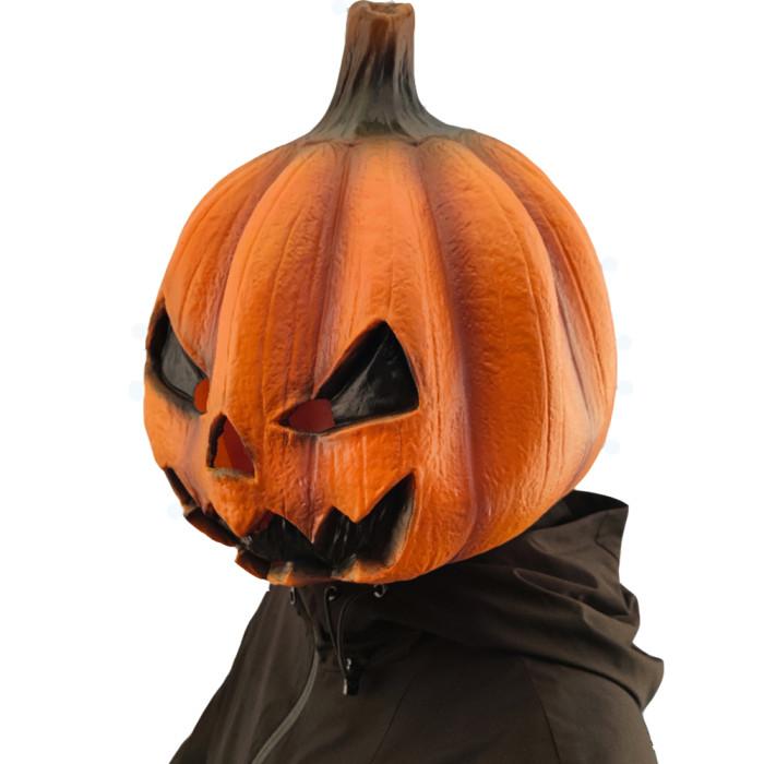 CreepyParty Halloween JackoLantern Pumpkin Face Head Masks