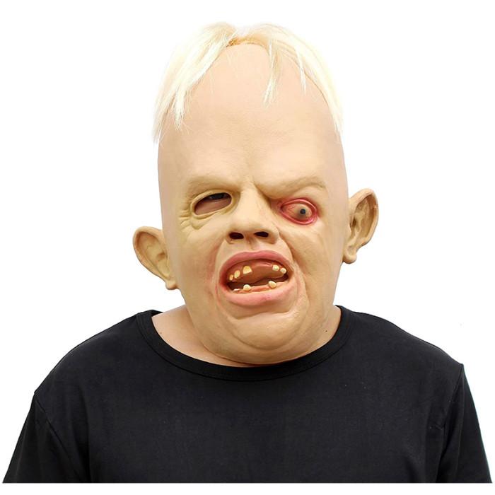 CreepyParty Scary Horror Latex Goonies Sloth Head Mask The Goonies 1980's for Halloween