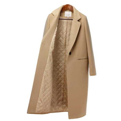Winter Coat Women New Arrival Fashion Cashmere Wool Coat Outerwear Female Long Thickening Warm Woolen Overcoat Women Trench Coat