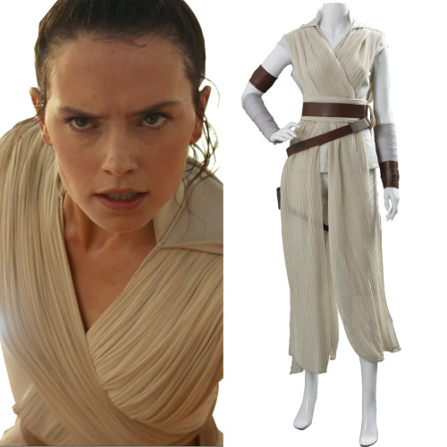 Star Wars 9 The Rise of Skywalker Teaser Der Aufstieg Skywalkers Rey Cosplay Kostüm