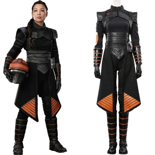 Star Wars The Mandalorian Fennec Shand Cosplay Kostüme Halloween Karneval Outfits