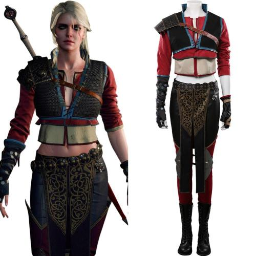 The Witcher 3 Fiona Elen Riannon Kurapika Juvenile Cosplay Kostüme Halloween Karneval Outfits