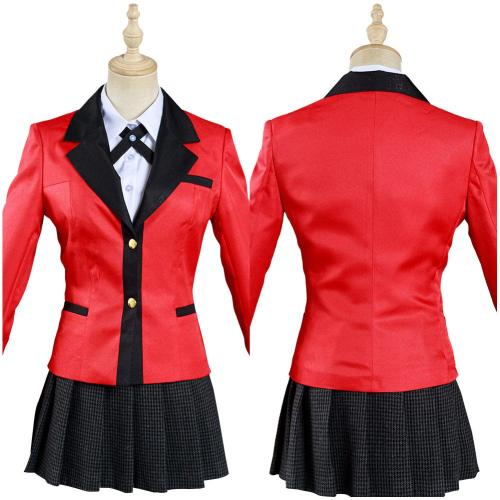 Kakeguri Compulsive Gambler Yomoduki Runa Outfits Cosplay Kostüm Set