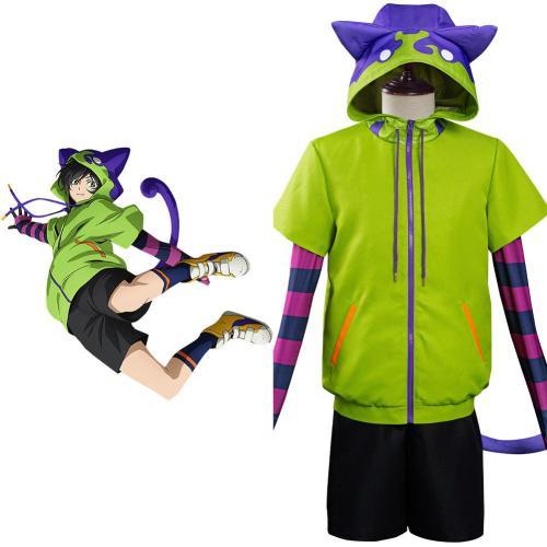 SK8 The Infinity - Miya Uniform Cosplay Halloween Karneval Kostüm