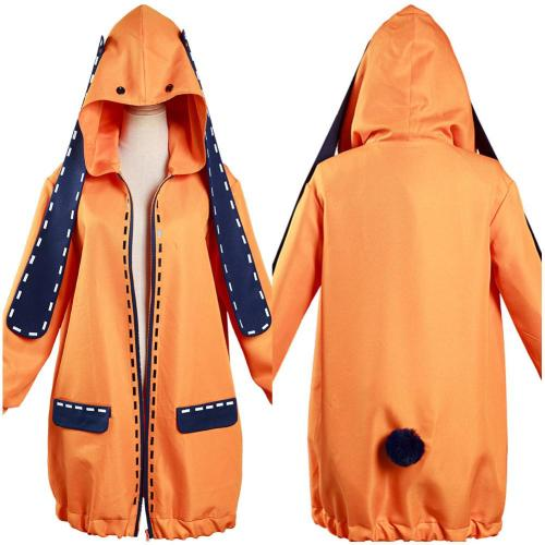 Kakeguri Compulsive Gambler Yomoduki Runa Jacke Mantel Cosplay Kostüm