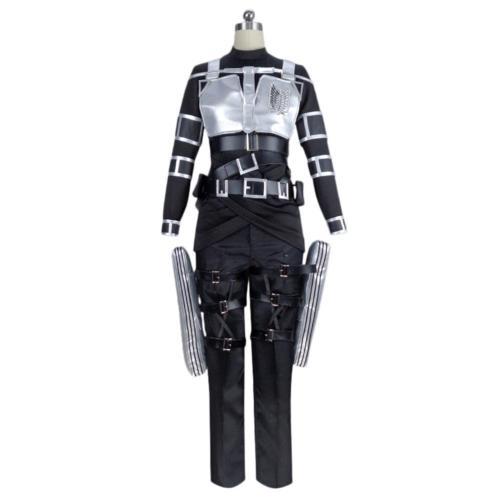 Attack on Titan Shingeki no Kyojin Mikasa Ackerman Cosplay Kostüm Halloween Karneval Kostüm