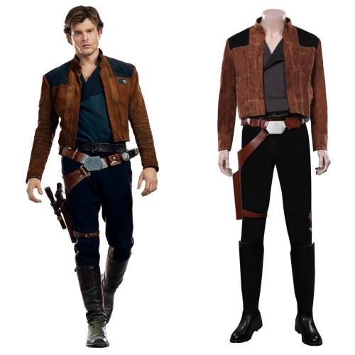 Solo: A Star Wars Story Han Solo Pilot Han Solo Cosplay Kostüme Halloween Karneval Outfits