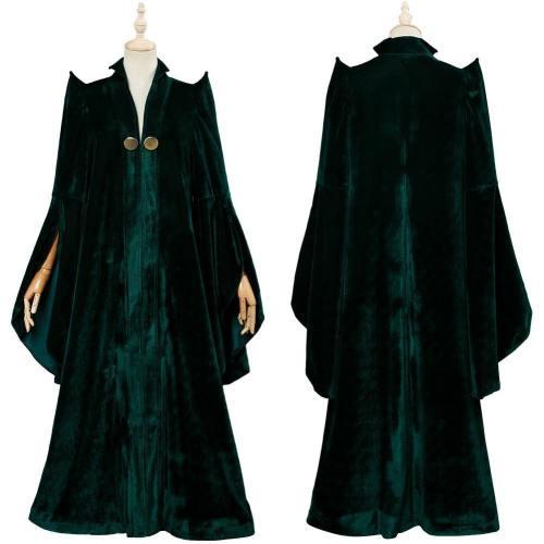 Harry Potter Gryffindor Minerva McGonagall Cosplay Kostüm Mantel