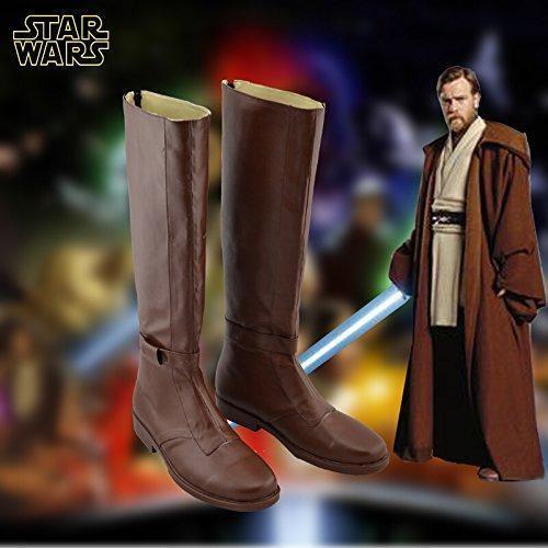 Star Wars Kenobi Jedi Schuhe Cosplay Schuhe Stiefel