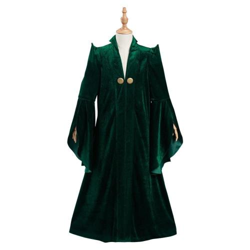 Harry Potter Minerva McGonagall Kinder Kostüm Robe Mantel Halloween Karneval Kostüm Set