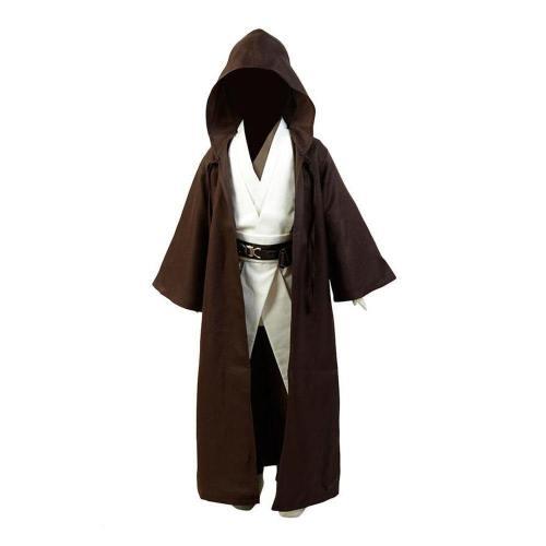 Star Wars Kenobi Jedi Cosplay Kostüm Kind Version
