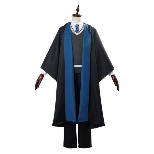 Harry Potter Schuluniform Cosplay Kostüm Ravenclaw Uniform Halloween Karneval Kostüm