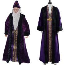 Harry Potter Gryffindor Albus Dumbledore Halloween Cosplay Kostüm Lila