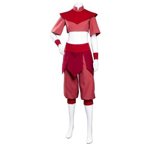 Avatar – Der Herr der Elemente Ty Lee Kostüm Cosplay Halloween Karneval Kostüm