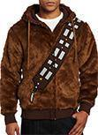 Star Wars I Am Chewie Chewbacca Furry Kostüm Kapuzenpulli Cosplay Jacke