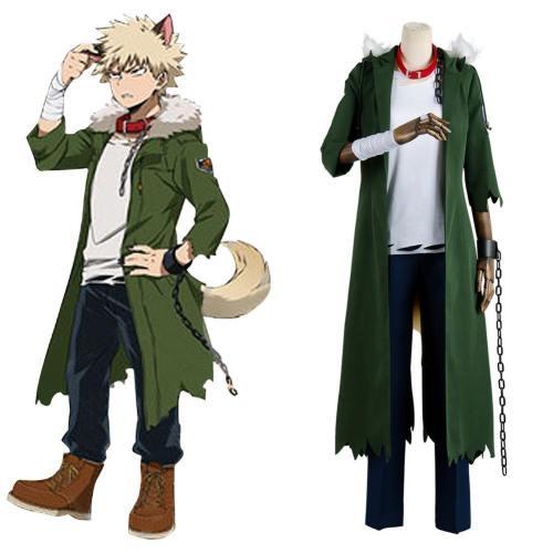 Boku no Hero Academia My Hero Academia Katsuki Bakugou Halloween Cosplay Kostüm