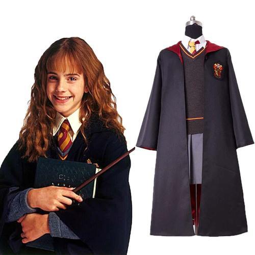Harry Potter Gryffindor Hermione Granger Hermine granger Kostüm Cosplay Kostüm für Kinder