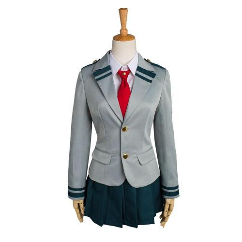 Boku No Hero Academia Mein Hero Academia Tsuyu Izuku Schuluniform Cosplay Kostüm