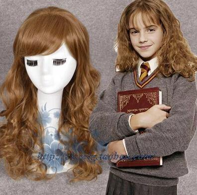 Harry Potter Gryffindor Hermione Granger Hermine granger Cosplay Perücke