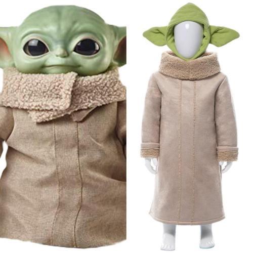 The Mandalorian Star Wars Yoda Baby Cosplay Kostüm Klein Baby
