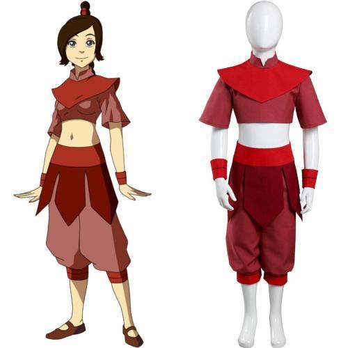 Avatar – Der Herr der Elemente Ty Lee Kinder Kostüm Mädchen Halloween Karneval Outfits