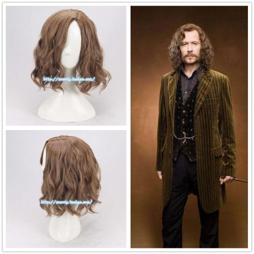 Harry Potter Sirius Orion Black Magic Perücke Cosplay Perücke Kurzhaar