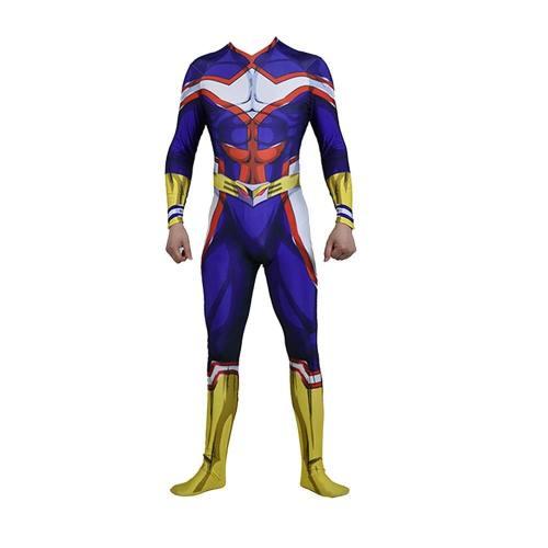 My Hero Academia Boku no Hero Academia All Might Jumpsuit Cosplay Kostüm Neu