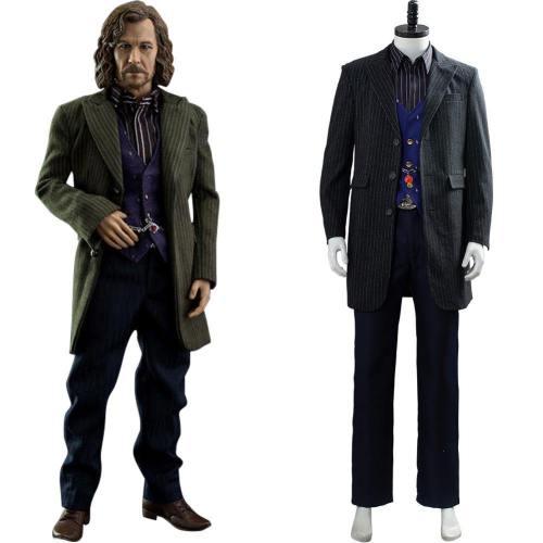 Harry Potter Sirius Black Tatze Schnuffel Anzug Cosplay Kostüm