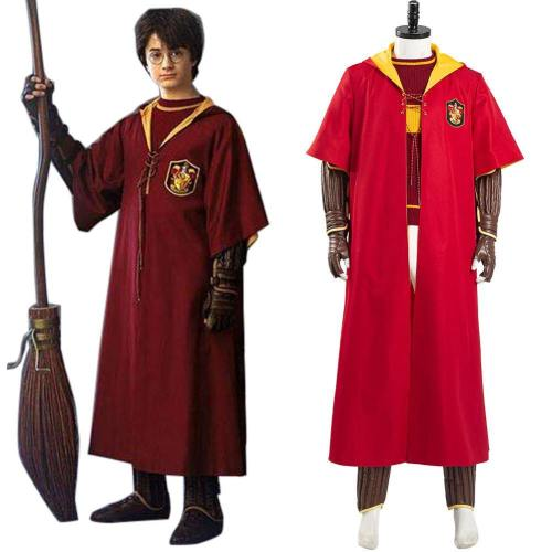 Harry Potter Gryffindor Quidditch Uniform Schuluniform Cosplay Kostüm Halloween Karneval Kostüm