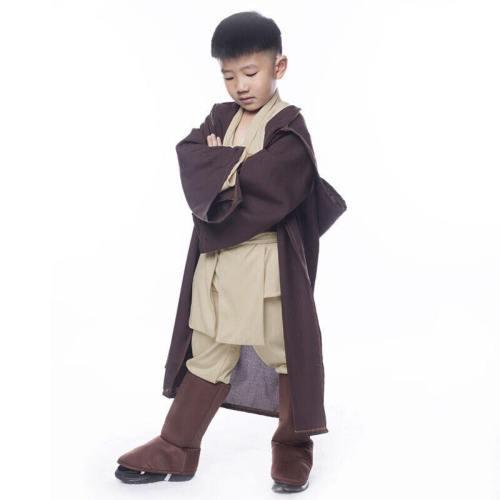 Star Wars Obi Wan Kenobi Jedi Kind Halloween Cosplay Kostüm