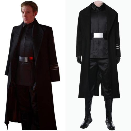 Star Wars 9 The Rise of Skywalker Teaser Der Aufstieg Skywalkers General Armitage Hux Cosplay Kostüm