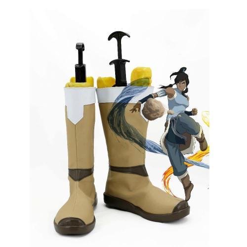 Die Legend von Korra Avatar The Legend of Corra Korra Schuhe Cosplay Schuhe