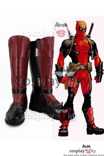 Deadpool Wade Wilson Cosplay Schuhe
