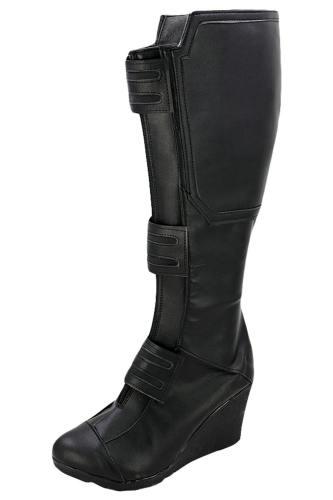 Avengers 3 Civil War Camptain America Black Widow Cosplay Schuhe Stiefel NEU Version