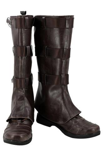 Avengers: Infinity War 2018 Captain America Steve Rogers Cosplay Schuhe Stiefel