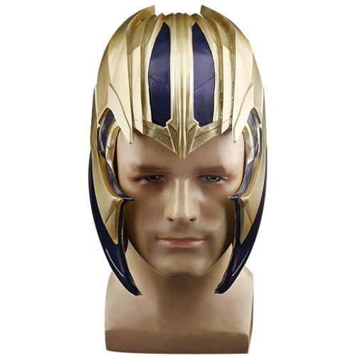 Avengers 4 Endgame Thanos Helm Kopfbedeckung Cosplay Requisiten