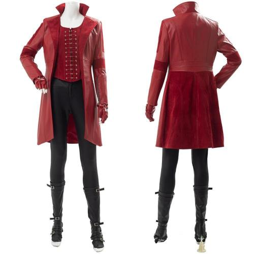 Captain America 3 Civil War Scarlet Witch Wanda Outfit Cosplay Kostüm