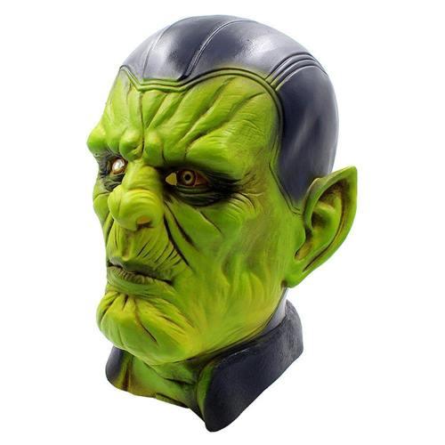 Captain Marvel Carol Danvers Superhero Cosplay Maske Avengers Kopfbedeckung