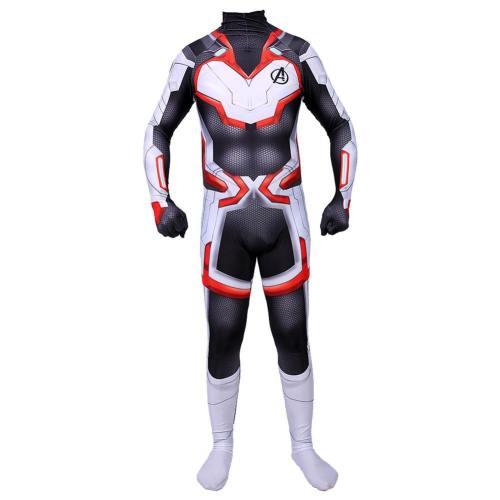 Avengers: Endgame Technical Specifications Quantenreich Suit Quantum Realm Suit Jumpsuit Overall Cosplay Kostüm für Kinder Erwachsene