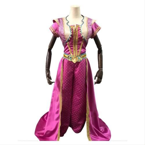 Aladdin Prinzessin Jasmin Kleid Cosplay Kostüm Delux