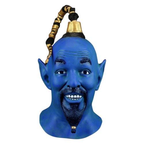 Aladdin Genie Dschinni Will Smith Maske Cosplay Maske Kopfbedeckung