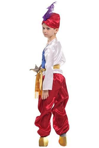 Aladdin and the magic lamp Aladdin and the Wonderful Lamp Prinz für Kinder Junge Cosplay Kostüm