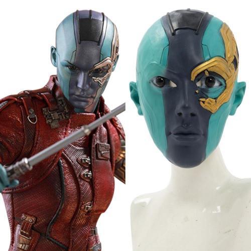 Avengers 4 Endgame Nebula Maske Kopfbedckung Cosplay Maske NEU