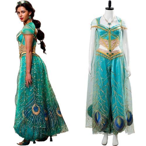 Aladdin Princess Prinzessin Jasmine Cosplay Kostüm