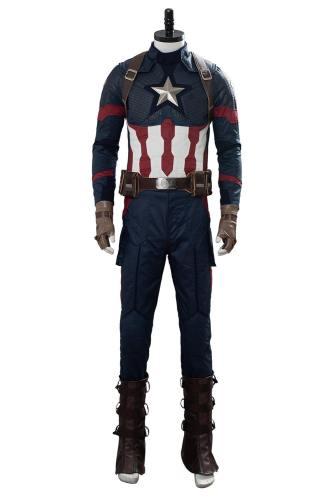 Avengers 4 Avengers: Endgame Captain America Cosplay Kostüm NEU Set