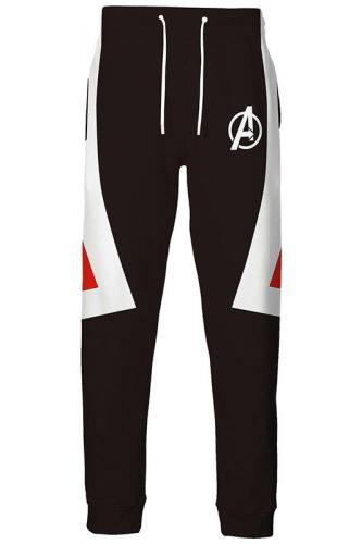 Avengers: Endgame Avengers: Infinity War - Part II Neu Version Hose Sporthosen Quantenreich Suit Quantum Realm Suit