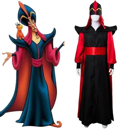 Jafar Kostüm Aladdin Jafar Villain Cosplay Kostüm
