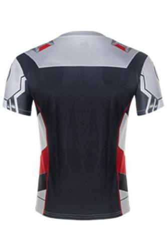 Avengers: Endgame Technical Specifications T-Shirts Hemd Kurzarm Rundhals Herren Männer Erwachsene 3D Print Quantenreich Suit Quantum Realm Suit
