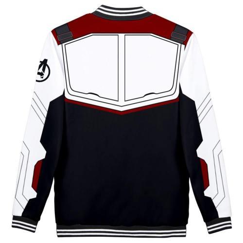Avengers: Endgame Technical Specifications Baseball Jacke Quantenreich Suit Quantum Realm Suit Jacke Sweatshirt Pullover