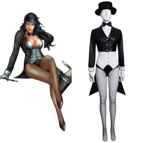Superheldin Zatanna Zatara aus Batman Cosplay Kostüm Halloween Karneval Outfits